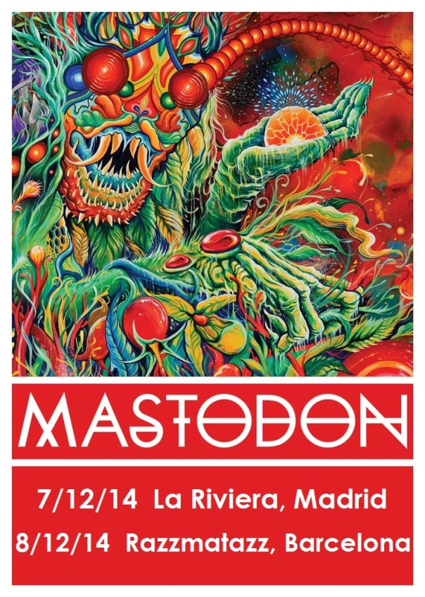 Mastodon - Once More Round the Sun Tour