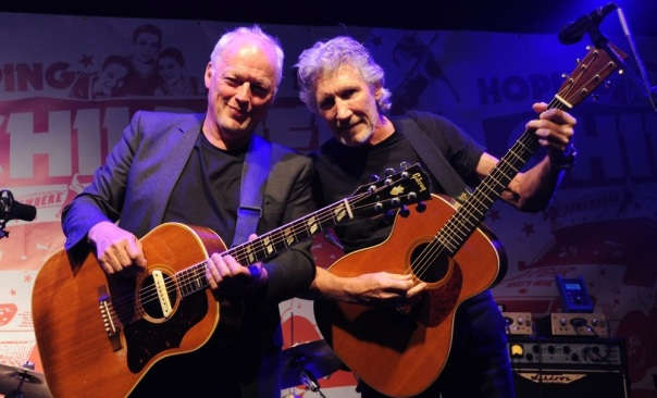 Image: David Gilmour, Roger Waters