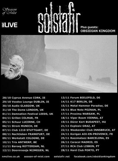 Solstafir + Obsidian Kingdom