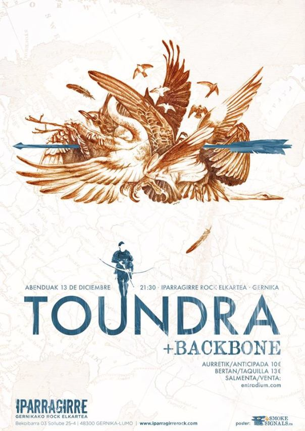 2014-12-13 Toundra + Backbone